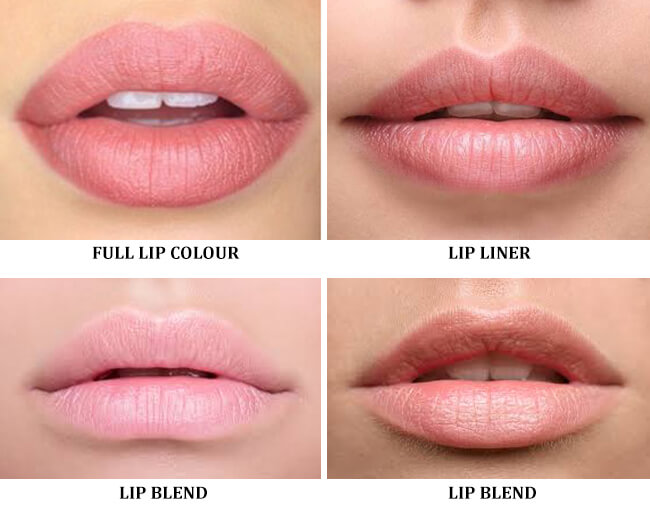 Lip Tattoo Options - Medicine of Cosmetics